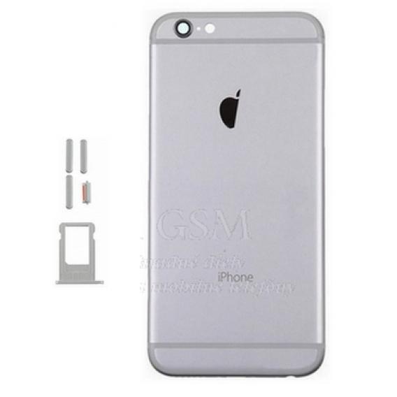 iPhone 6 - Zadny kryt -Šedy - Náhradné diely na mobilné telefóny 4350d77121b